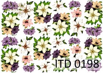 Papier decoupage ITD D0198