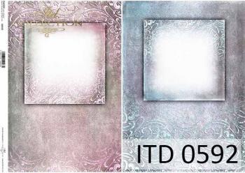 Papier decoupage ITD D0592