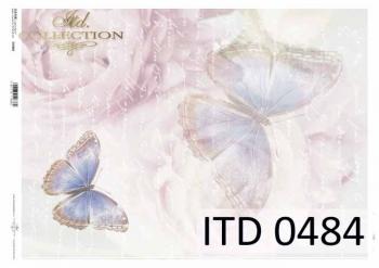 Papier decoupage ITD D0484
