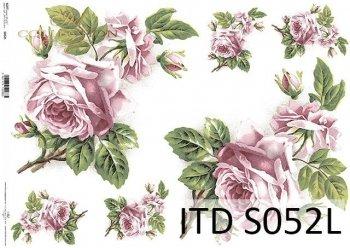 Papier decoupage SOFT ITD S0052L