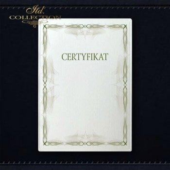 dyplom DS0312 certyfikat