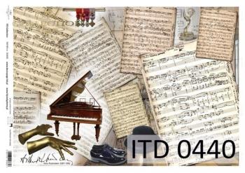 Papier decoupage ITD D0440M