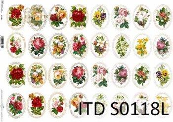 Papier decoupage SOFT ITD S0118L