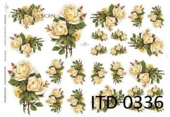 Papier decoupage ITD D0336M