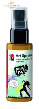 Acrylic spray Marabu Art 50 ml - Gold 084