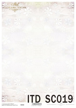 Papier scrapbooking SC0019