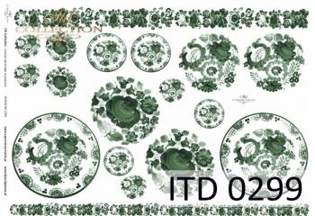Papier decoupage ITD D0299M