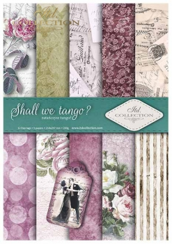 .Papier do scrapbookingu SCRAP-017 ''Shall we Tango''