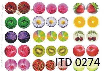 Papier decoupage ITD D0274