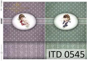Papier decoupage ITD D0545