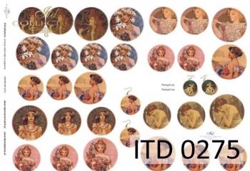 Papier decoupage ITD D0275M