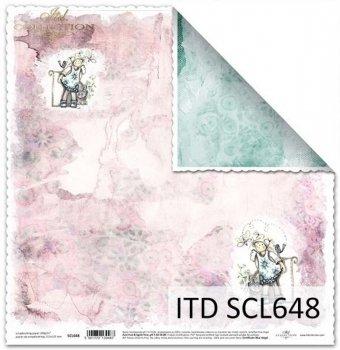 Papier scrapbooking SCL648