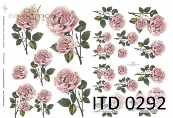 Papier decoupage ITD D0292M