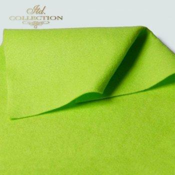 Filc dekoracyjny miękki jasno zielony F003