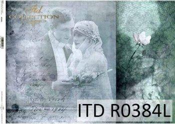 Papier ryżowy ITD R0384L