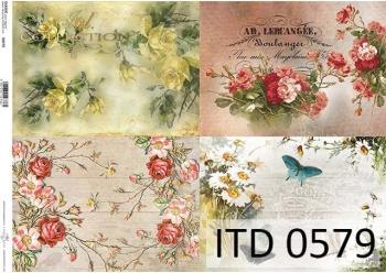 Papier decoupage ITD D0579