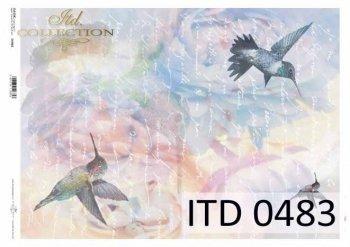 Papier decoupage ITD D0483