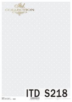 Papier decoupage SOFT ITD S0218