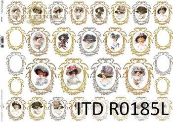 Papier ryżowy ITD R0185L