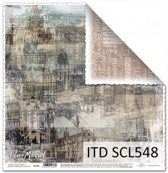 Papier scrapbooking SCL548