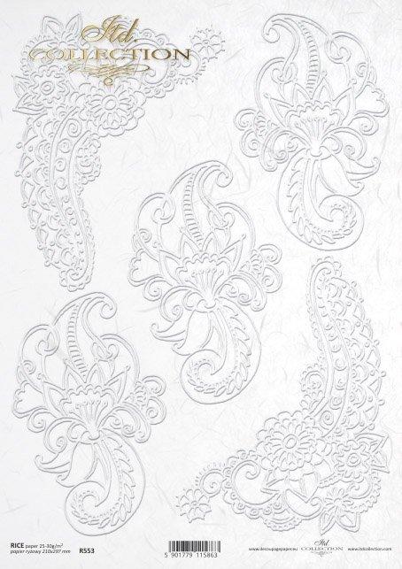 рисовая бумага для декупажа R0553