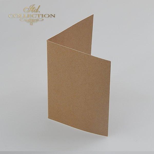 Baza do kartki kolor EKO - jasno brązowy. Format kartki stworzony do koperty c6