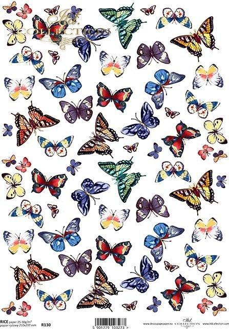 papier-ryżowy-decoupage-motyl-motyle-motylek-motylki-R0130
