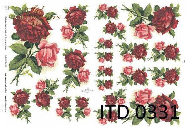 бумага для декупажа классическая D0331