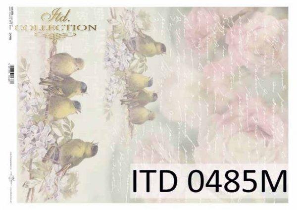 бумага для декупажа классическая D0485M