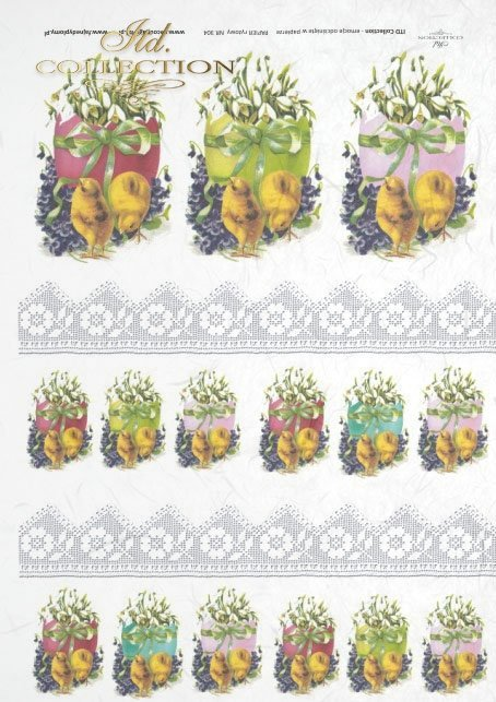 рисовая бумага для декупажа R0304