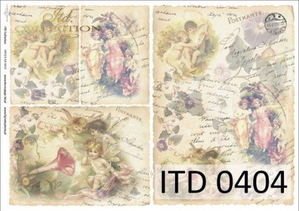 бумага для декупажа классическая D0404M