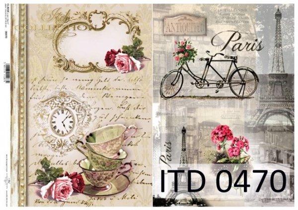 бумага для декупажа классическая D0470