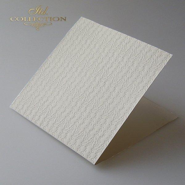 Tarjetas base a la crema * Basiskarten CREAM
