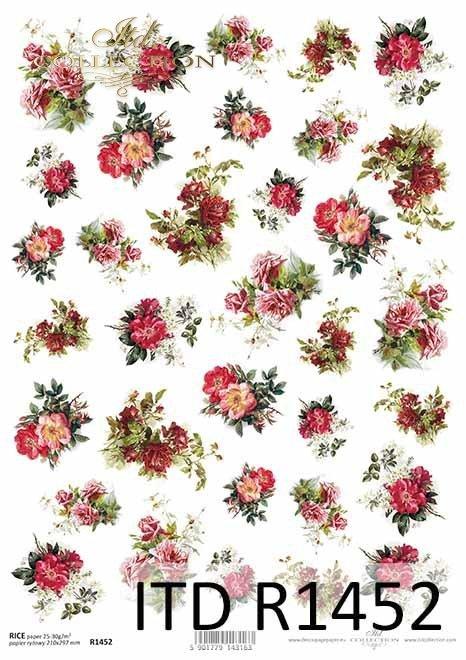 kwiaty, róże, bukieciki, drobne elementy*flowers, roses, bouquets, small items