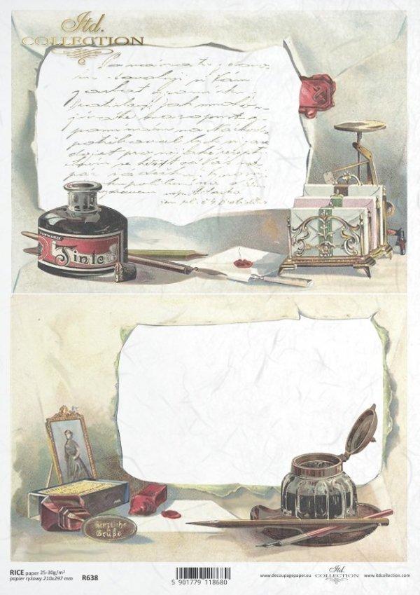 рисовая бумага для декупажа R0638