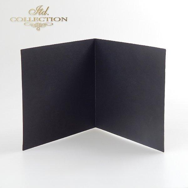 Заготовки для открыток BDK-013 черный цвет