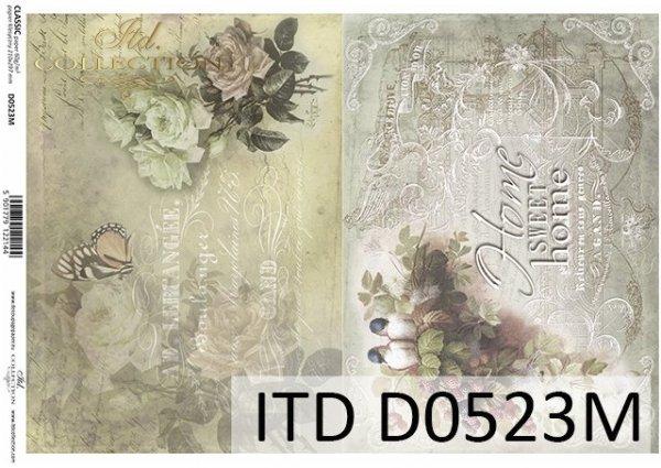 бумага для декупажа классическая D0523M