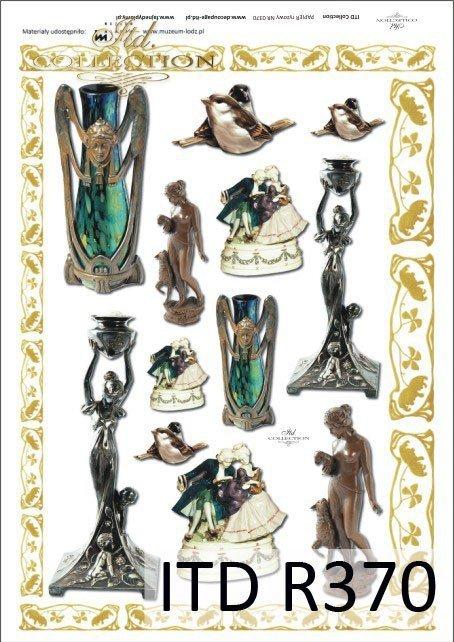 statuetka, statuetki, wazonik, wazoniki, figurka, figurki, R370, Łódź, Lodz, Muzeum Miasta Łodzi, The Museum of Lodz