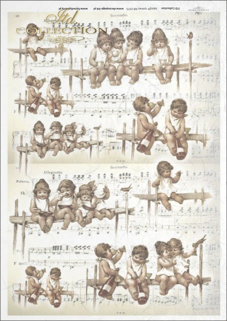 retro and vintage, angels, cherubs, retro, vintage, angel, angels, cupid, cupids, notes, wine, bottle of wine, R375