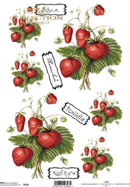 rice-paper-decoupage-strawberries-strawberry-fruit-R0394
