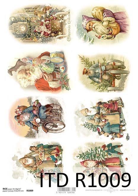 Boże Narodzenie, Święty Mikołaj, Dziadek Mróz, prezenty, Mikołaj, R1009