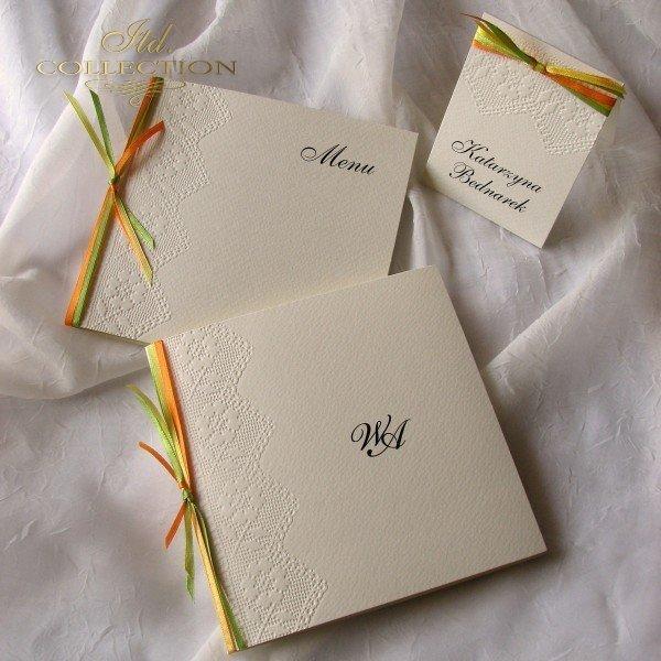 Einladungskarten / Hochzeitskarte 1718