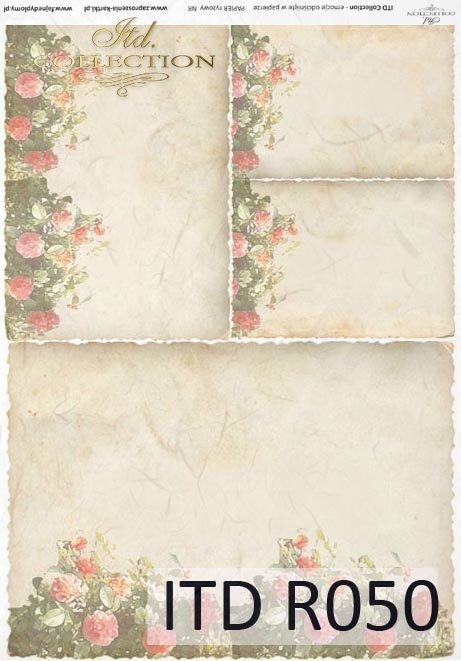Reispapier für Serviettentechnik und Decoupage R0050