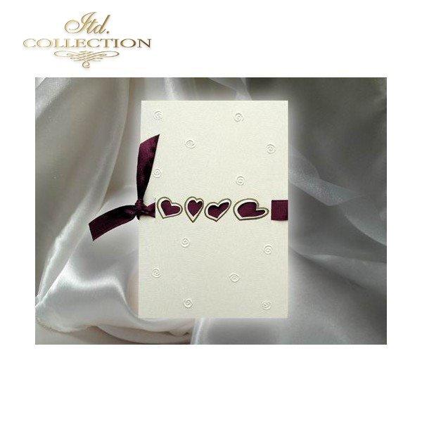 Einladungskarten / Hochzeitskarte 1328