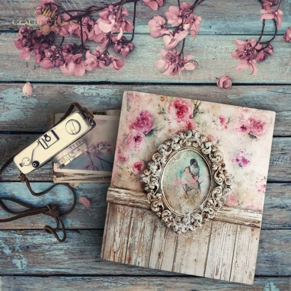 rice paper * shabby chic * example - 4