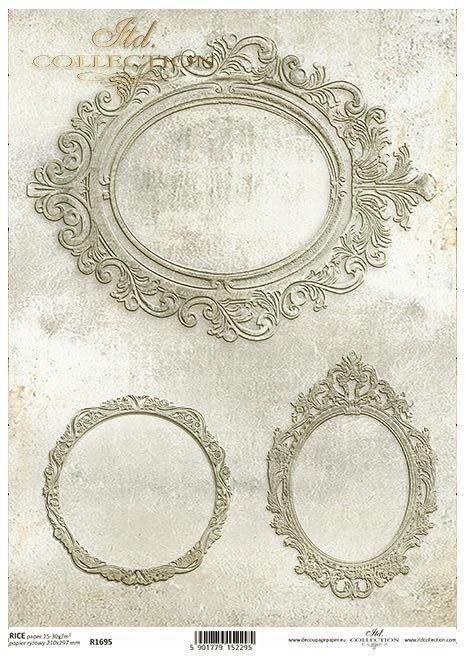 Dekory, ramki, owale, Vintage, ozdobniki*Decors, frames, ovals, Vintage, ornaments