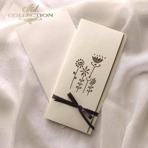 Einladungskarten / Hochzeitskarte 01729_51_beige