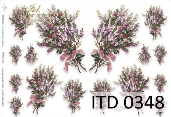 Decoupage paper ITD D0348