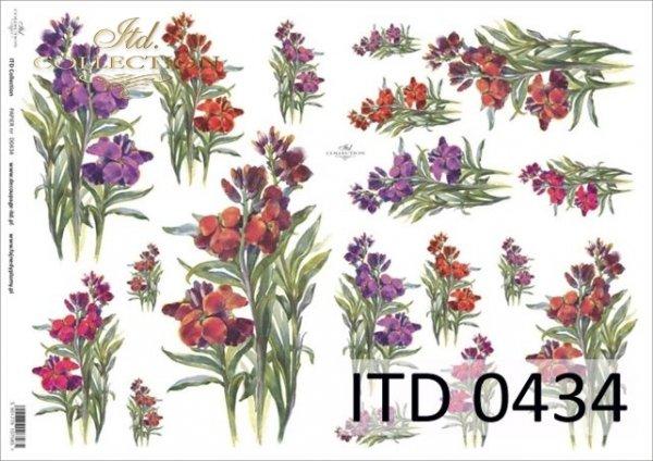 Decoupage paper ITD D0434M