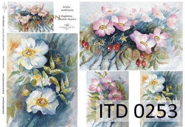 Decoupage paper ITD D0253M